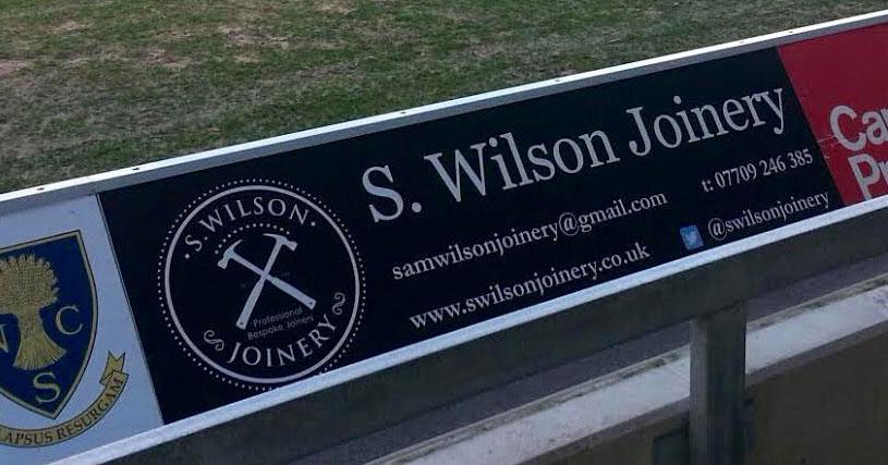 S Wilson Joinery banner